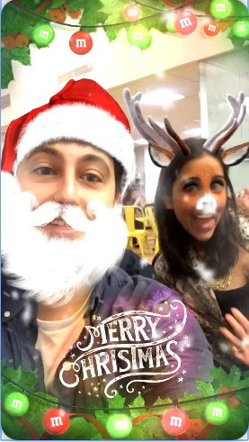 Christmas Instagram AR Effects