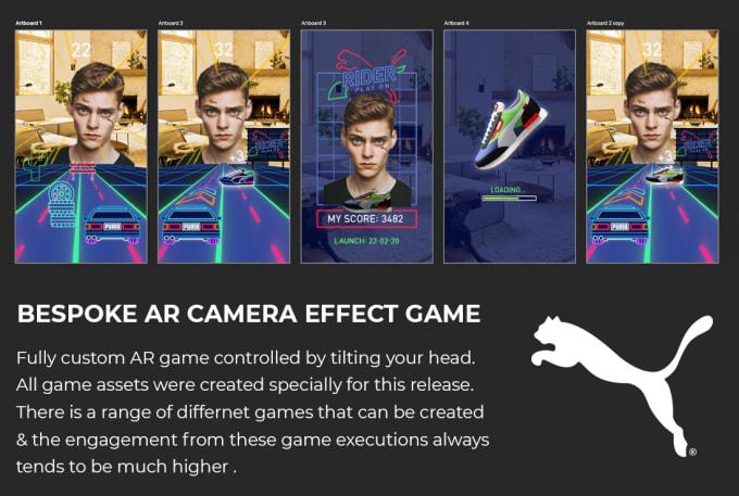 AR Filter Experiences