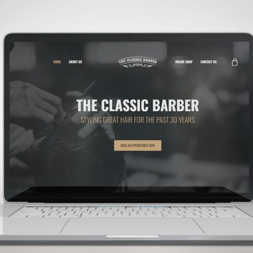 barber website