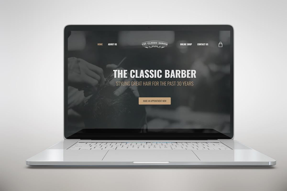 barber website