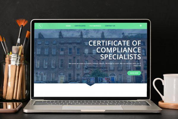 COMPLIANCE CERTIFICATES WEB DESIGN